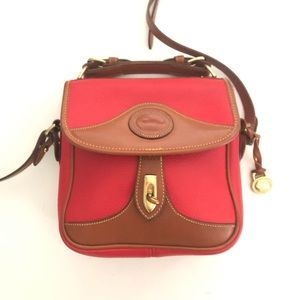 Red Dooney & Bourke Crossbody Messenger Bag